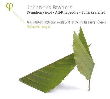 BRAHMS J. Symphony n°4 - Alt Rhapsodie - Shicksalslied